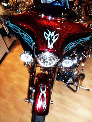 O's Custom Paints / Custom Painting - Harleys, Choppers, Motorcycles