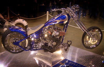 Harley Cobalt Blue Paint